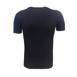 - T-Shirt 0 Yaka Babadan Oğula Siyah (1)