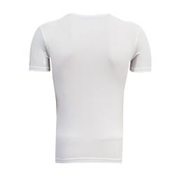 3TSHIRT90TL - T-Shirt 0 Yaka Batalla Resim Beyaz (1)