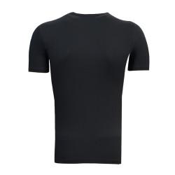 3TSHIRT90TL - T-Shirt 0 Yaka Batalla Resim Siyah (1)
