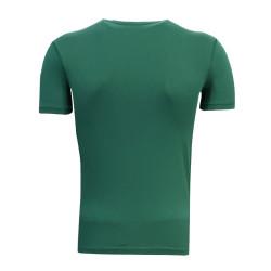 3TSHIRT90TL - T-Shirt 0 Yaka Batalla Resim Yeşil (1)