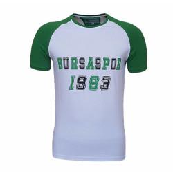 - T-Shirt 0 Yaka Beyaz Bs 1963