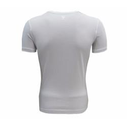 - T-Shirt 0 Yaka Beyaz Yeşil Futbol (1)