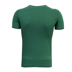 - T-Shirt 0 Yaka Bs Çizgili Yeşil (1)