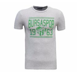 - T-Shirt 0 Yaka Bursaspor 1963 Gri