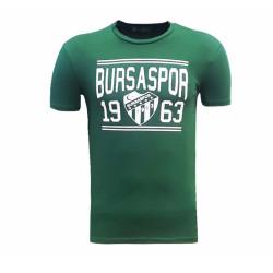- T-Shirt 0 Yaka Bursaspor 1963 Yeşil