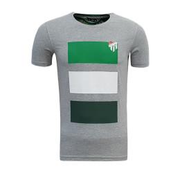 - T-Shirt 0 Yaka Bursaspor Gri