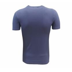 - T-Shirt 0 Yaka Füme Parçalı Logo (1)