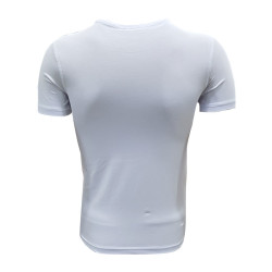 - T-Shirt 0 Yaka Green White Beyaz (1)
