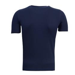 - T-Shirt 0 Yaka Logo 5 Yıldız Lacivert (1)