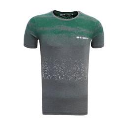 - T-Shirt 0 Yaka Noktalı Antrasit