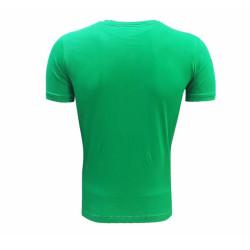 - T-Shirt 0 Yaka Omuz Logo 5 Yıldız Yeşil (1)