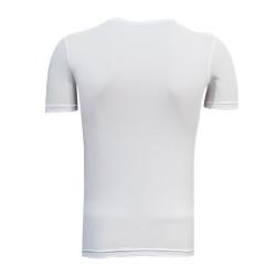 - T-Shirt 0 Yaka Timsah Logo Beyaz (1)