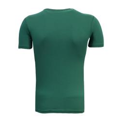 - T-Shirt 0 Yaka Timsah Logo Yeşil (1)