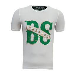 - T-Shirt Bayan Bs Bursaspor Beyaz