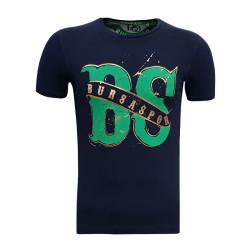 - T-Shirt Bayan Bs Bursaspor Lacivert