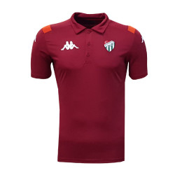 - T-Shirt Kappa Polo Yaka Bordo