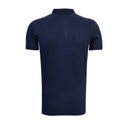 - T-Shirt Polo Yaka Logo Lacivert (1)