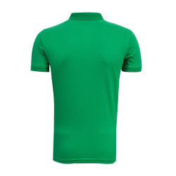 - T-Shirt Polo Yaka Logo Yeşil (1)