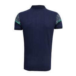 - T-Shirt Polo Yaka Noktalı Lacivert (1)