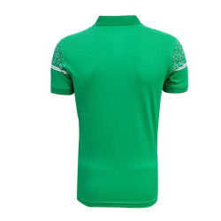 - T-Shirt Polo Yaka Noktalı Yeşil (1)