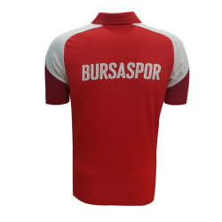- T-Shirt Puma Esito 4 Polo Kırmızı 2017-2018 (1)
