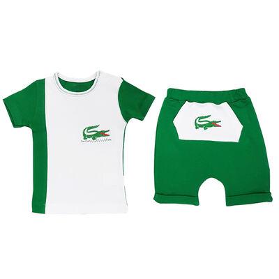 Bebek 2`Li Şortlu Timsah Takım