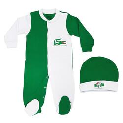 BURSASTORE - Bebek Şapkalı Tulum Timsah