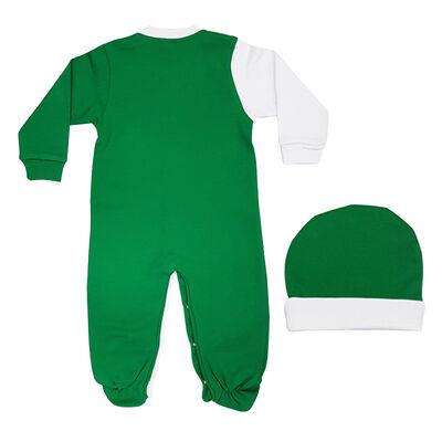 Bebek Şapkalı Tulum Timsah