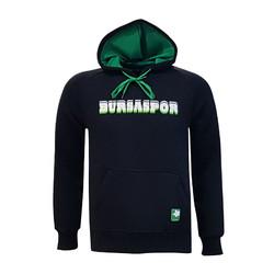 BURSASTORE - Çocuk Sweat Kapşonlu Bursaspor Siyah