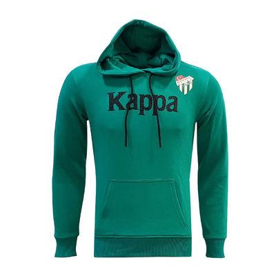 Çocuk Sweat Kapşonlu Kappa Yeşil