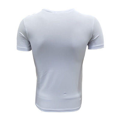 Çocuk T-Shirt 0 Yaka Green White Beyaz