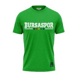 BURSASTORE - Çocuk T-Shirt 0 Yaka Teksas Yeşil