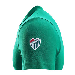 Çocuk T-Shirt Polo Yaka Bursaspor Yeşil - Thumbnail
