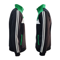 Eşofman Takım Yeşil Beyaz Siyah Bs - Thumbnail