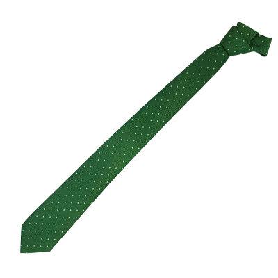 Kravat Beyaz Noktalı
