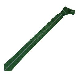 BURSASTORE - Kravat Yeşil Beyaz Çizgili
