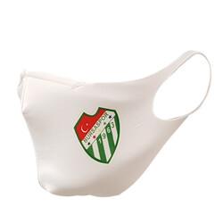 BURSASTORE - Maske Bez Beyaz Logo