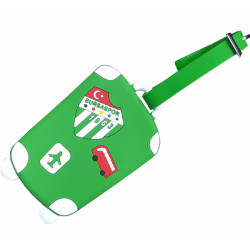 BURSASTORE - Pvc Valiz Etiketi Yeşil (1)