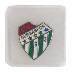 BURSASTORE - Rozet Kutulu Gri Yaka Logo (1.70x1.90 mm)