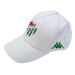 BURSASTORE - Şapka Kappa Beyaz Logo