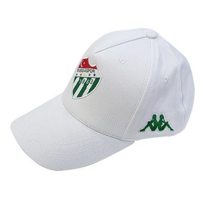 Şapka Kappa Beyaz Logo