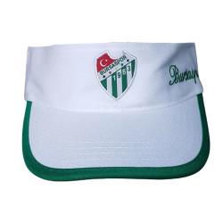 Şapka Vizor Bursaspor Beyaz - Thumbnail