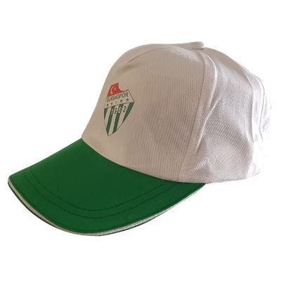 Şapka Yeşil Beyaz Logo