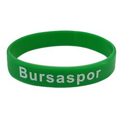 BURSASTORE - Silikon Bileklik Kalın Yeşil