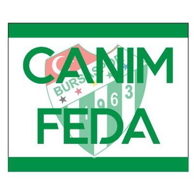 Sticker Canım Feda (11,5x9,5)