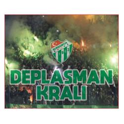 - Sticker Deplasman Kralı (11,5x9,5)