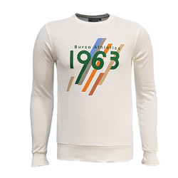 3AL2ODE - Sweat 0 Yaka Bursa 1963 Beyaz