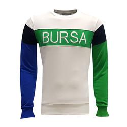 BURSASTORE - Sweat 0 Yaka Bursa Yeşil Beyaz