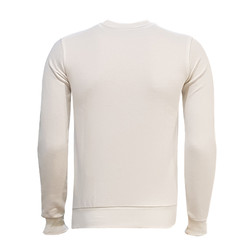 3AL2ODE - Sweat 0 Yaka Çizgili Beyaz (1)