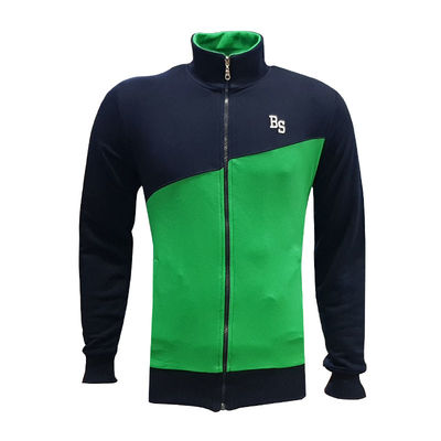 Sweat Fermuarlı Bs Lacivert Yeşil